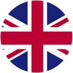 Bandiera britannica in cerchio
