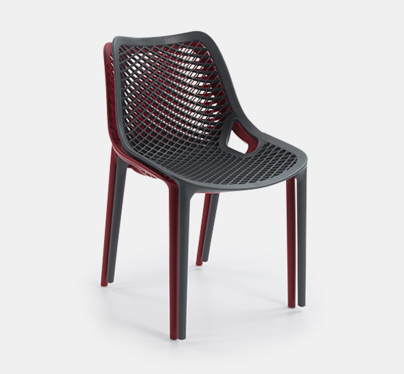 Aero Side Chair U2013 Black