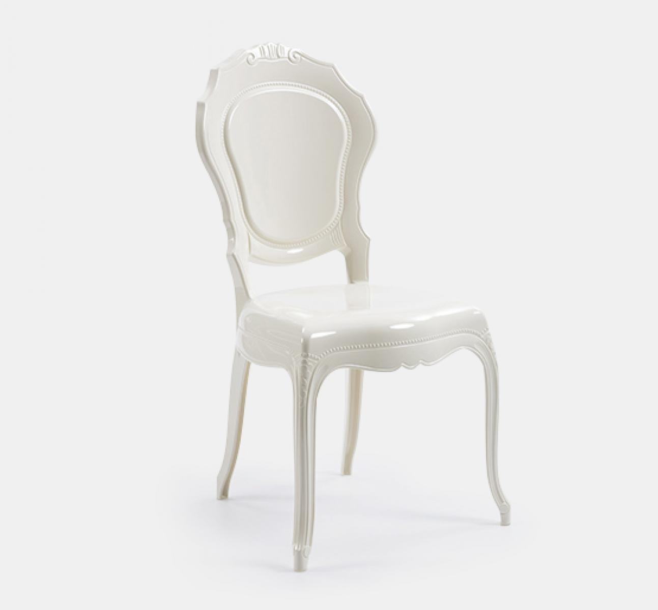 Clic Outdoor Chair - White