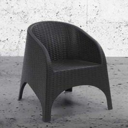 black indoor chair from the apollo collection
