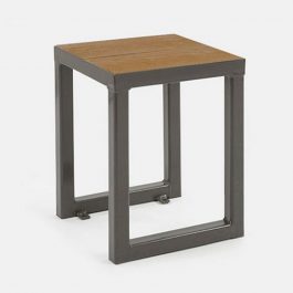 Mill Low Stool - Coppered