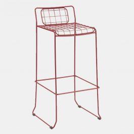 Mondrian Barstool RAL 3004