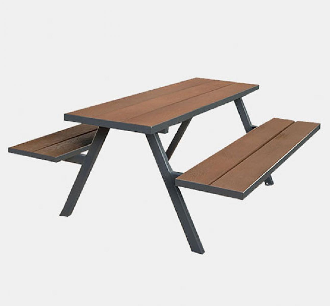 Mill A Frame Picnic Bench Coppered Uhs