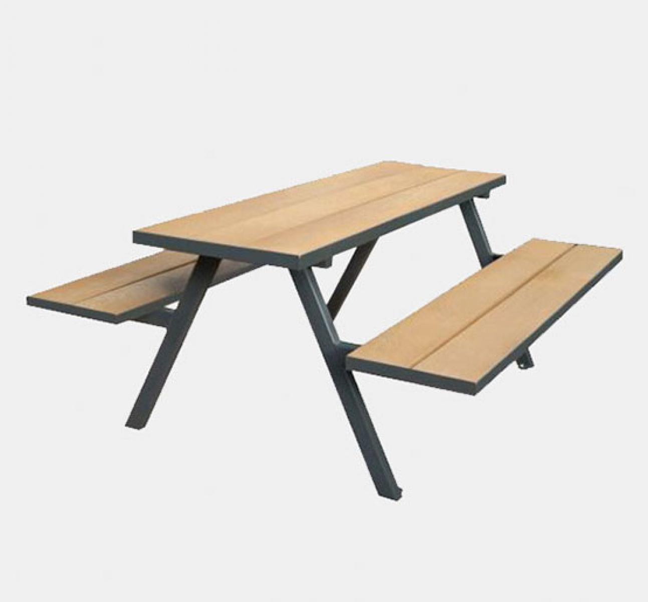 Mill A Frame Picnic Bench Golden Uhs