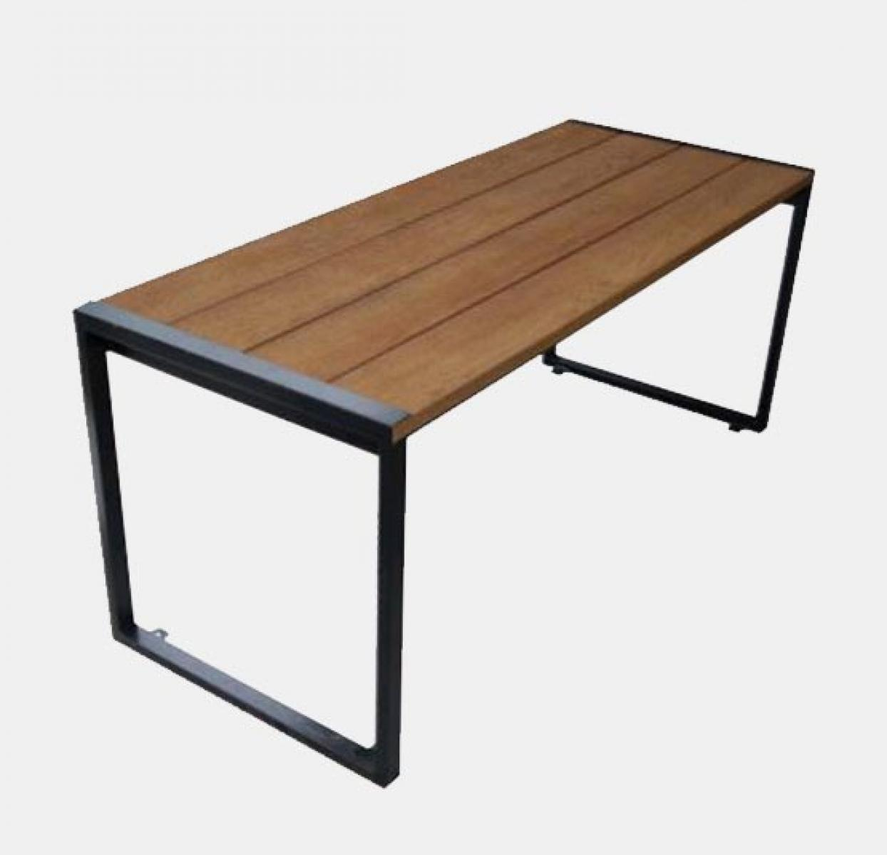 Mill Linea Table 1800x717mm Coppered Uhs
