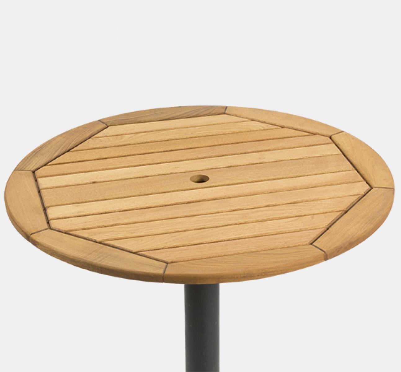 Teak Round Table Top (700mm dia)