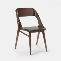 beech leg frame side chair