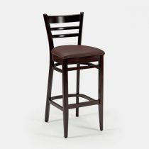 Dion Barstool With Seatpad - Brown