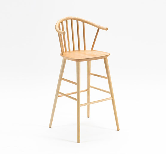 Vienna Spindle back barstool