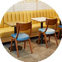 Café-Einrichtung
