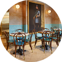 Restaurants, Bars et Cafés