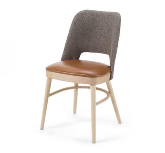 Modern contemporay upholstered dining chair