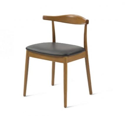 Midcentury wooden dining chair