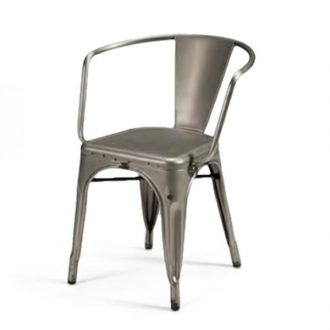 metal frame side chair