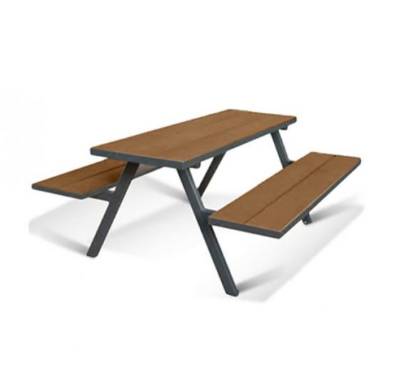 MILL A Frame Picnic Bench - Coppered