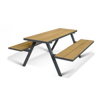 MILL A Frame Picnic Bench - Golden