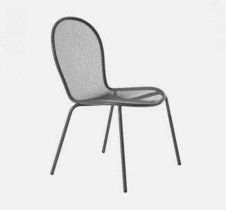 Wilson Side Chair Outdoor Silver