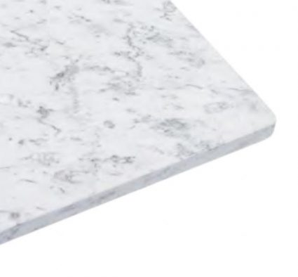 Carrara Square Table Top