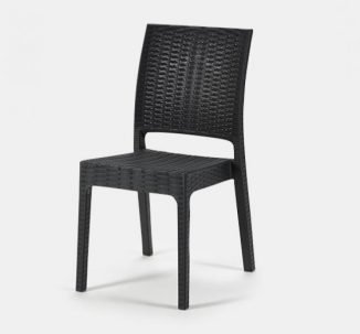 Apollo Side Chair - Black