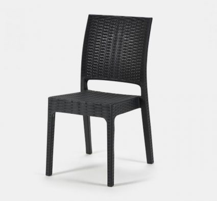 Apollo Side Chair - Black