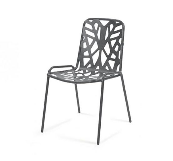 Abstract Side Chair