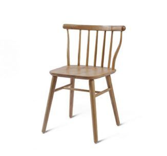 beech leg frame back chair