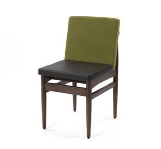 Chaise rembourrée style milieu du siècle