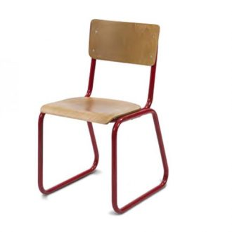classic design sled base school style chair