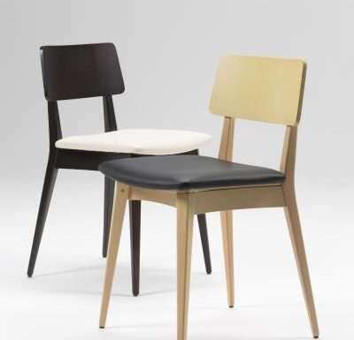 Black and white and gold and black beech side chairs two colours
