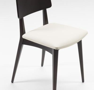 Black and white and gold and black beech side chairs black top