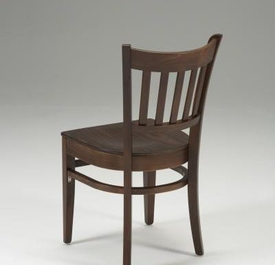 Very strong indoor dining chair black back