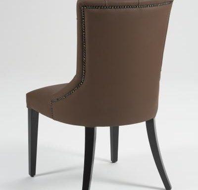 Upholstered beech frame side chair 2