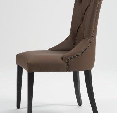 Upholstered beech frame side chair 3
