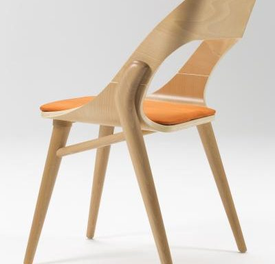beech leg frame side chair light upholstery
