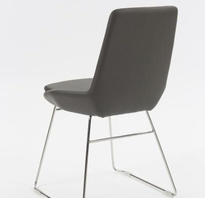 Very modernist chair rear view