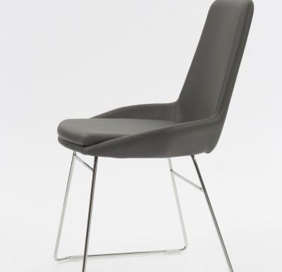 Very modernist chair side view