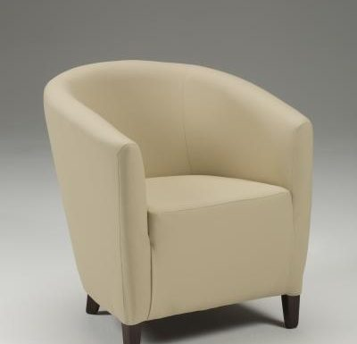 Jensen Tub Chair beige front view