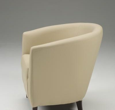 Jensen Tub Chair side view beige