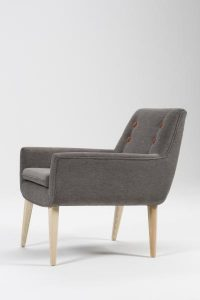 Thor Armchair side view