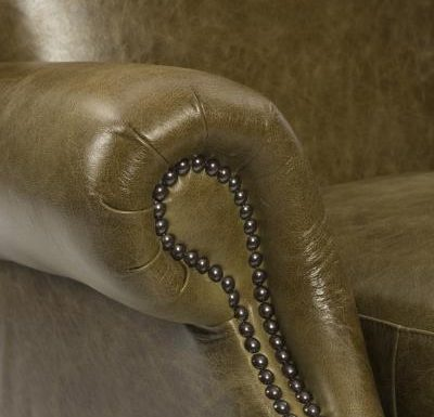 Bath Armchair arm close up