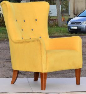 windmill armchair yellow