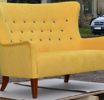 windmill armchair sofa yellow
