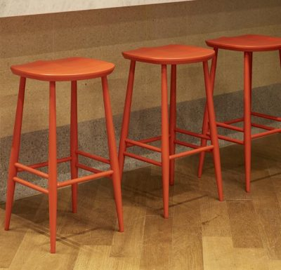 Parlour Stool in a row