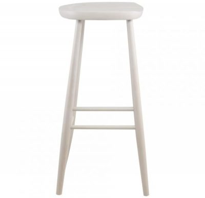 Parlour Stool white side view