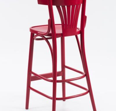 Trattoria Highstool rear view red