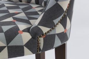 Madison Barstool close up seat